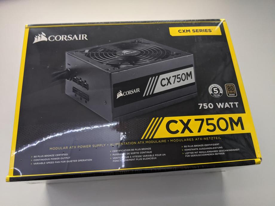 CX750M Corsair power supply