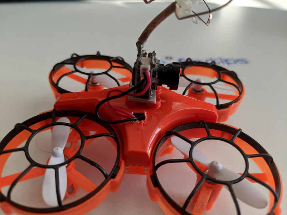 Eachine E016F with cut out on the top