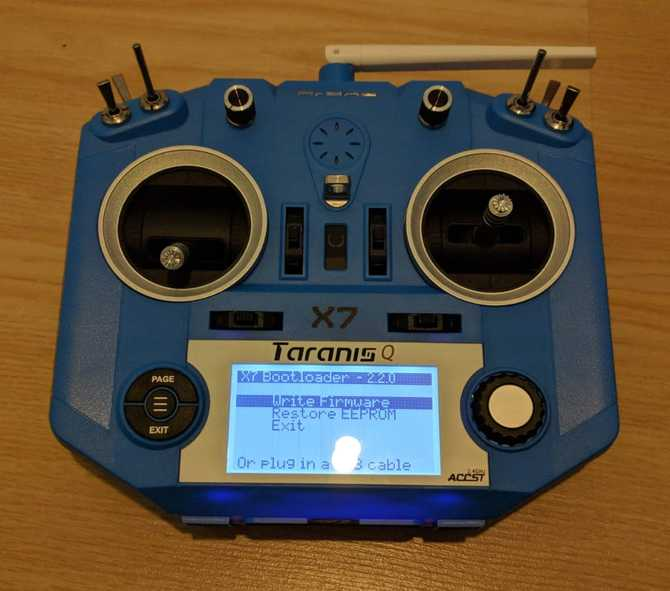 Setup the Taranis Q X7 using OpenTX