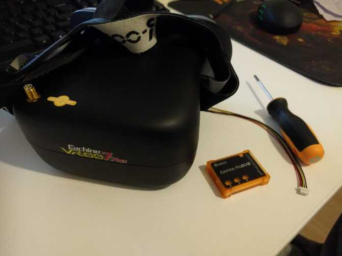 How to add DVR to Eachine VR 007 Pro fpv goggles