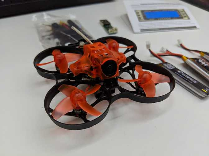 How to set up Eachine Trashcan micro drone